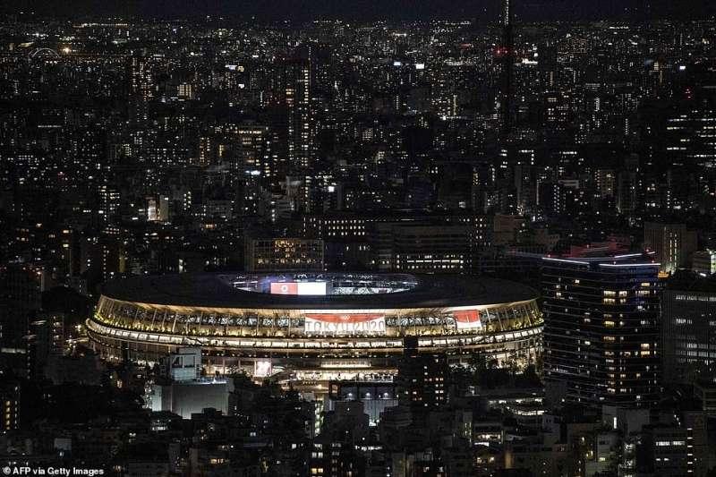 cerimonia apertura olimpiadi tokyo 2020 13