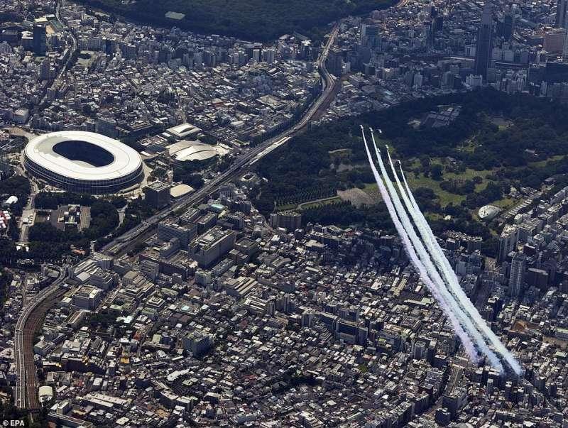 cerimonia apertura olimpiadi tokyo 2020 17