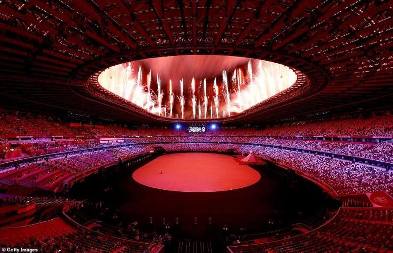 cerimonia apertura olimpiadi tokyo 2020 2