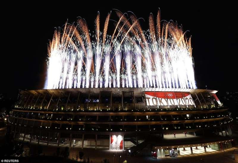 cerimonia apertura olimpiadi tokyo 2020 3