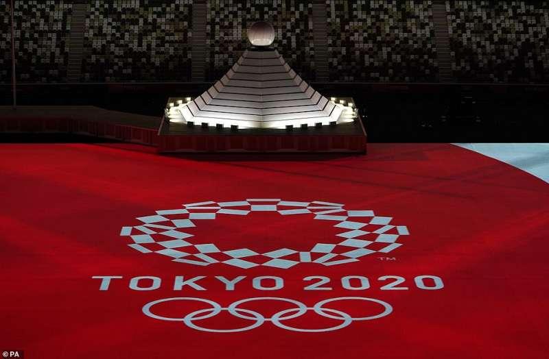 cerimonia apertura olimpiadi tokyo 2020 4
