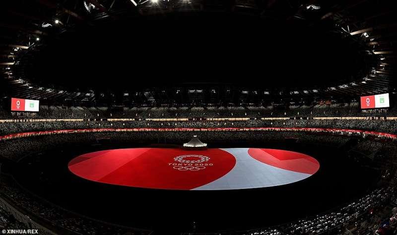 cerimonia apertura olimpiadi tokyo 2020 5