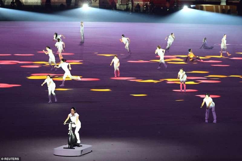 cerimonia apertura olimpiadi tokyo 2020 7