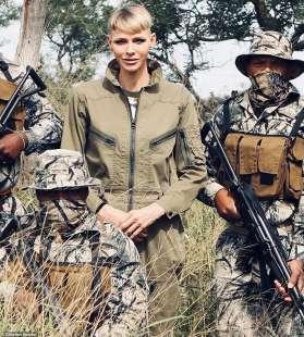 CHARLENE DI MONACO IN SUDAFRICA