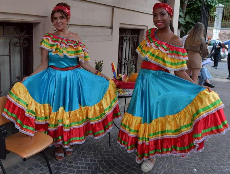 costumi colombiani