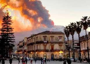 Eruzione a Catania 2