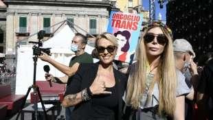 FRANCESCA PASCALE AL GAY PRIDE DI NAPOLI