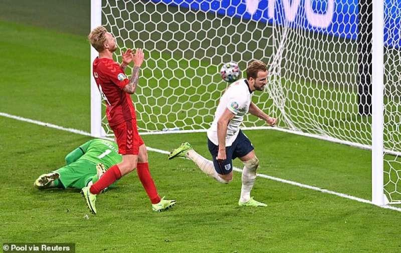 Il gol di Kane