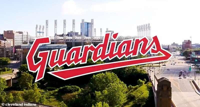 la squadra di baseball cleveland indians diventa guardians