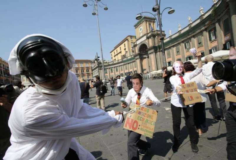 manifestanti g20 napoli
