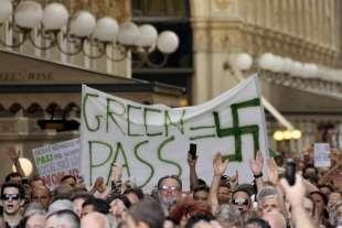 manifestazioni contro green pass