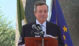 Mario Draghi a Santa Maria Capua Vetere
