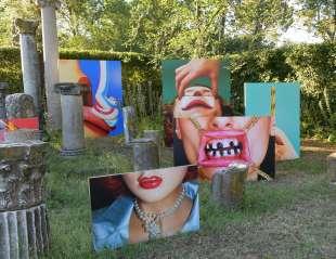 opere esposte a villa medici foto di bacco (1)