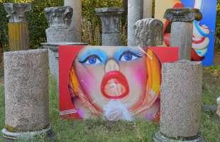 opere esposte a villa medici foto di bacco (2)