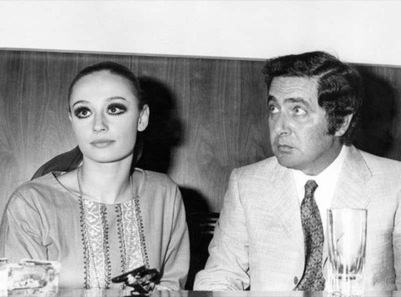 Raffaella Carra e Corrado - Foto Farabola