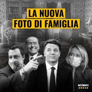 salvini renzi meloni Berlusconi