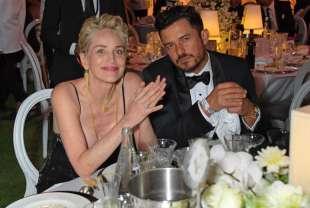 Sharon Stone e Orlando Bloom