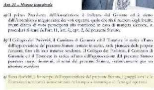 STATUTO MOVIMENTO 5 STELLE BY CONTE - ADDIO AI MEETUP