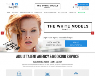 the white models