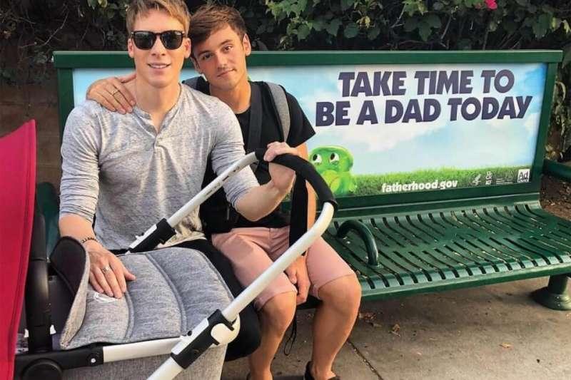 tom daley e il marito
