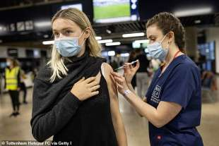 Vaccinazioni Inghilterra