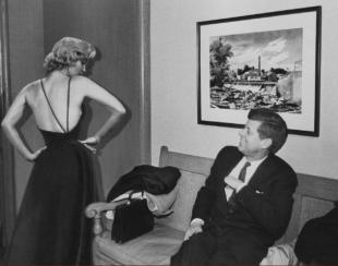Marilyn Monroe And John Kennedy