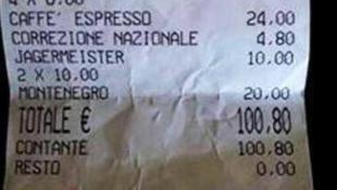 venezia  Lo scontrino dei turisti finisce su Faceboo