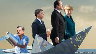 draghi merkel renzi hollande