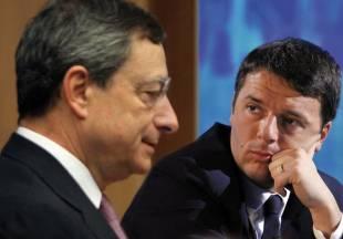 Draghi Renzi