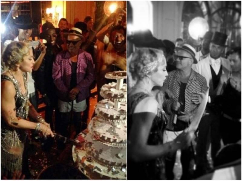 Madonna Festeggia Il Suo Compleanno In Mood Anni Venti 650x487