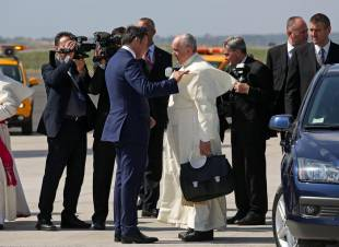 Renzi saluta papa Francesco