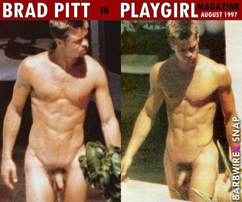 Brad pitt naked and fucked words... Lost