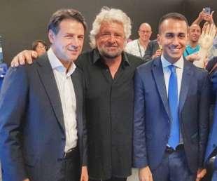 BEPPE GRILLO GIUSEPPE CONTE LUIGI DI MAIO