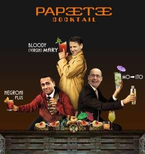PAPEETE COCKTAIL: LUIGI DI MAIO GIUSEPPE CONTE NICOLA ZINGARETTI BY GIANBOY