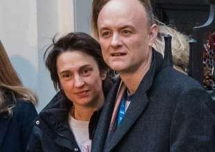 dominic cummings e la moglie