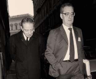 Enrico Cuccia Cesare Romiti