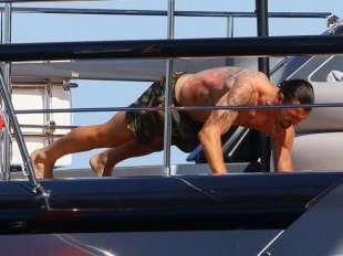 ibrahimovic e lo yacht