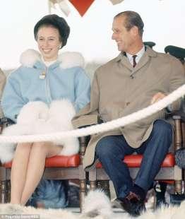 la principessa anna a il principe filippo