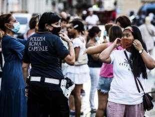 POLIZIA MUNICIPALE E I CONTROLLI ANTI COVID