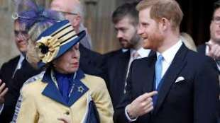principessa anna e il principe harry