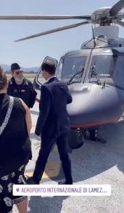 alessandra todde e stefano patuanelli nell elicottero di stato video jacopo gasparetti 2
