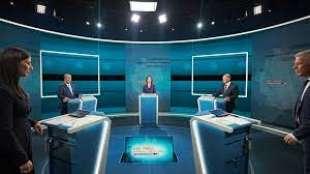 dibattito tv laschet baerbock scholz