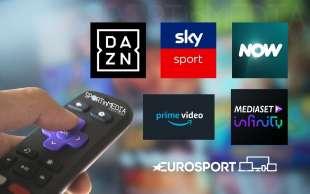 DIRITTI TV SERIE A DAZN AMAZON MEDIASET SKY