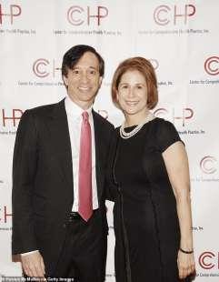 Howard Rubin con la moglie Mary Henry