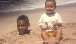 jacobs da piccolo in spiaggia