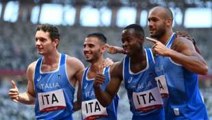 la staffetta italiana 4x100