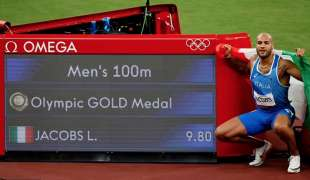 marcell jacobs oro a tokyo2020