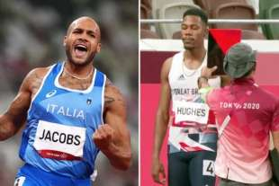 MARCELL JACOBS VINCE - L'INGLESE HUGHES SQUALIFICATO