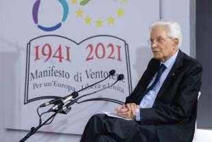 SERGIO MATTARELLA A VENTOTENE