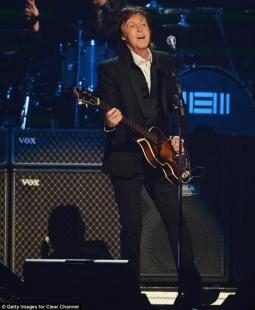 PAUL MCCARTNEY A IHEART RADIO MUSIC FESTIVAL